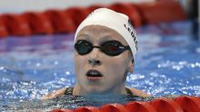 Ledecky wins preliminary heat by absurd distance, sets new Olympic record