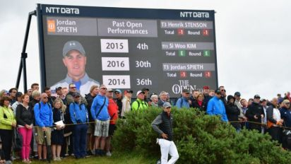 What happened at The Open while you were sleeping