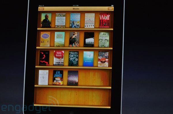 "Apple announces ""iBooks"" application for iPad"