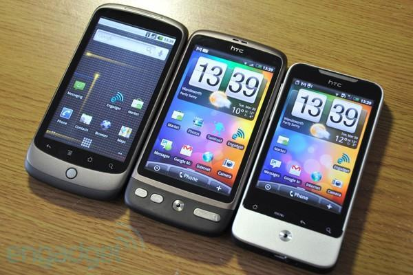 HTC: expect Desire, Legend and Wildfire to get Froyo 'beginning in Q3'