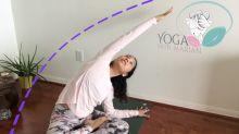 Alivia el dolor de espalda con posturas de yoga en casa