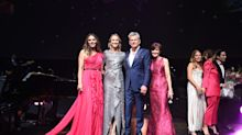 Elizabeth Hurley, David Foster, Vera Wang and more attend the BCRF's 25th annual Hot Pink Party