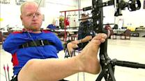 Armless archer aims for gold at London Paralympic Games