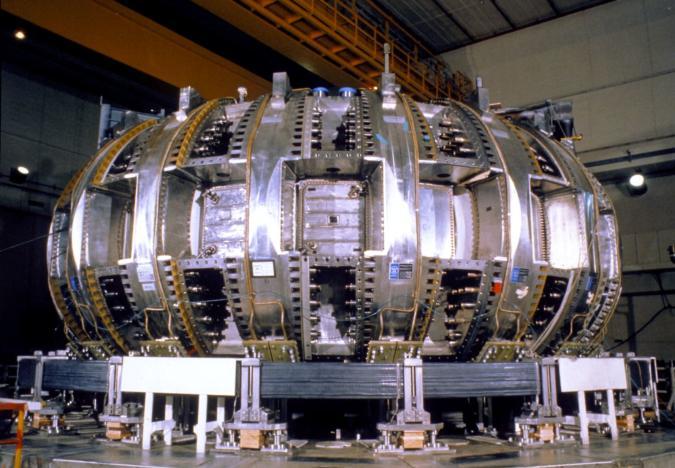 Princeton University's Tokamak Fusion Test Reactor