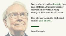 Warren Buffett's Advice to Young People: Be a Good Person