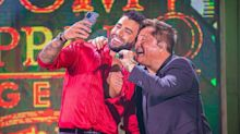 """Em live com Leonardo, Gusttavo Lima declara: """"Saudade da mãe dos meninos"""""""