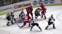 Tomas Jurco finishes one-timer past Giguere
