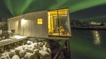 Manshausen, el hotel más 'chic' para admirar las auroras boreales de Noruega