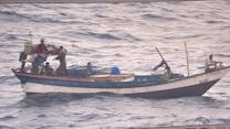Pirates kidnap US mariners from commercial ship