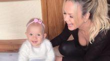 Eliana celebra primeiro ano da filha e emociona internautas: 'Faria tudo de novo'