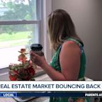 Real estate market bouncing back