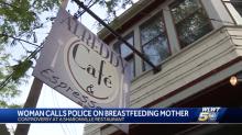 'Upset' restaurant customer calls police on breastfeeding mom