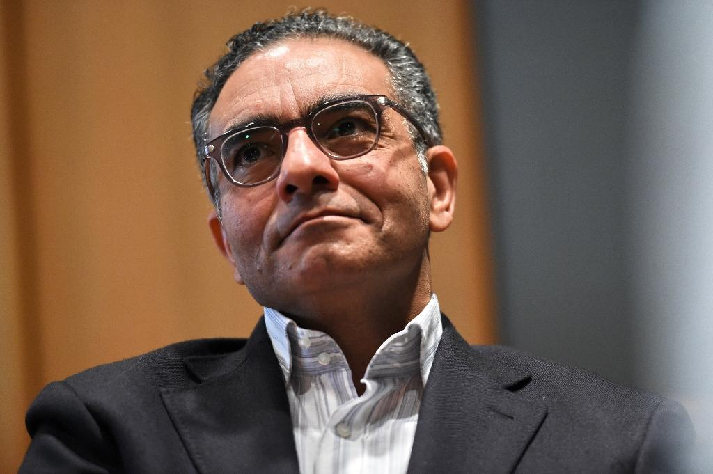 Fadi Chehade, chief executive of the Internet Corporation for Assigned Names and Numbers (ICANN) says he has accepted a job in the private sector (AFP Photo/Roslan Rahman)