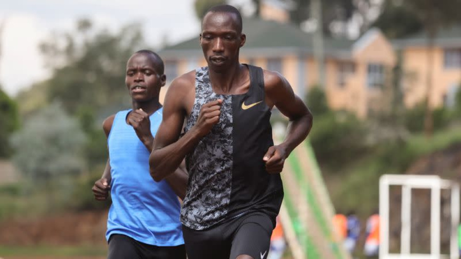 Kenya's Cheruiyot adjusts to reality of preparing for the Olympics in a pandemic