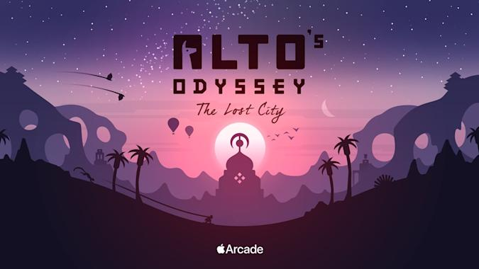 'Alto's Odyssey: The Lost City' is coming to Apple Arcade