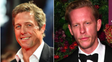 Hugh Grant defends Laurence Fox and says it's 'nonsense' he has been 'hounded for his opinions' in since-deleted tweet