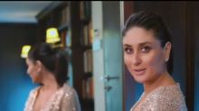 Kareena Kapoor Khan Looks Stunning as She Flaunts Baby Bump in a Shimmery Dress