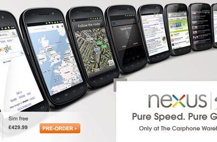 Nexus S sees UK SIM-free price chopped to £430, Best Buy's Christmas deliveries not so guaranteed