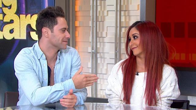 Snooki and Sasha Farber Get the Boot from 'DWTS'