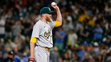Athletics' wild pitches, bullpen meltdown lead to another bad loss
