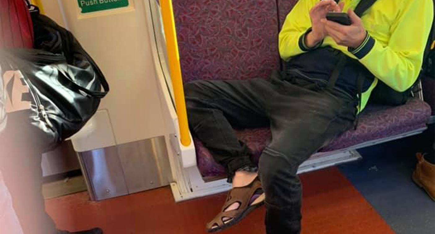 'I can sit where I like': Outrage after commuter refuses to move for pregnant woman
