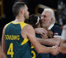 Australia's hopes for Olympic gold vanish against the US