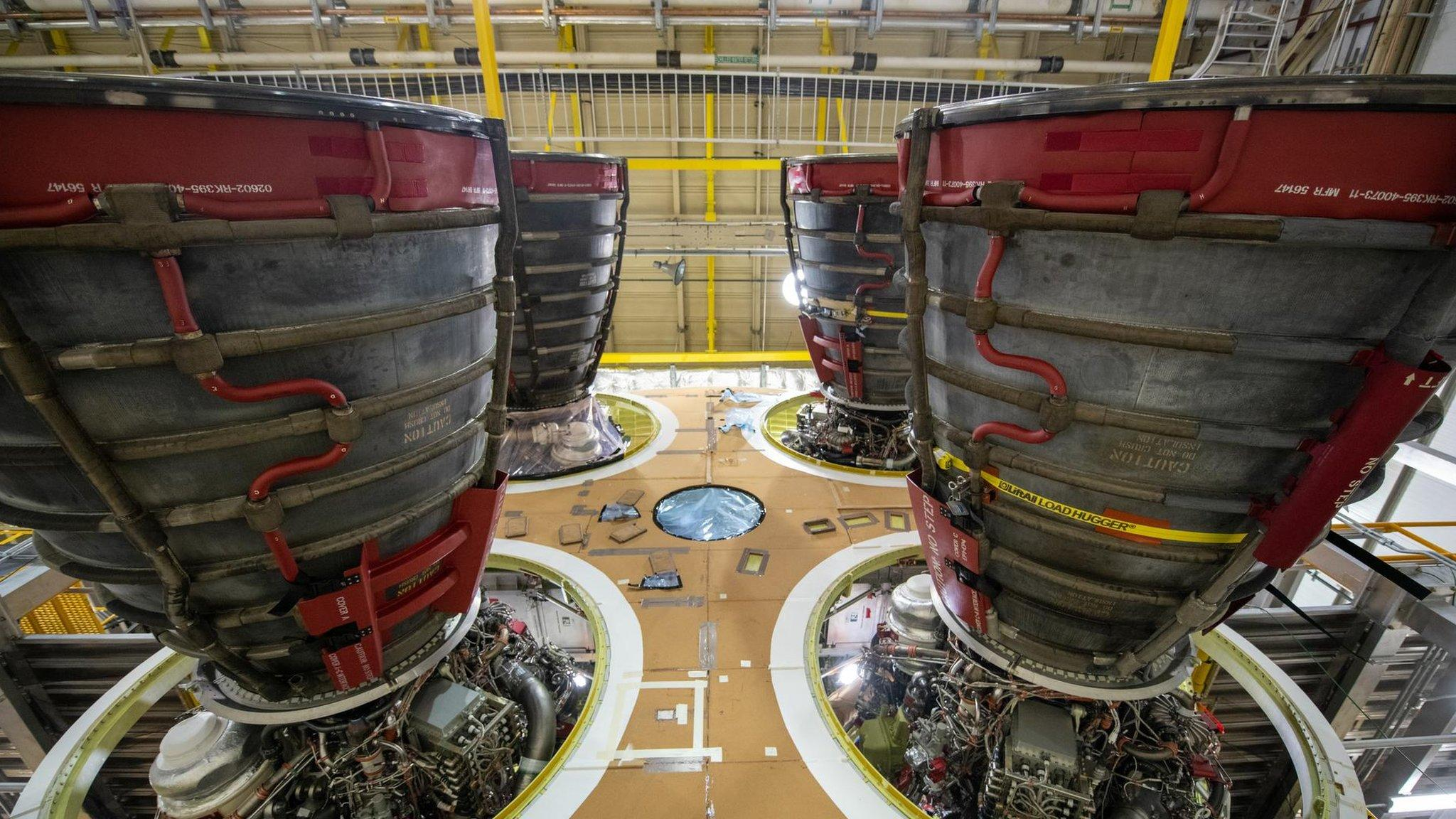 SLS: Nasa's 'megarocket' set to fire up engines in crucial test