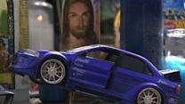 Makeshift Memorial Grows for Paul Walker