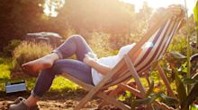 Bring the beach to your garden with these deckchairs
