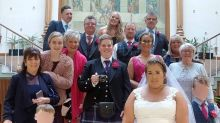 Woman shocks guests by turning her 30th birthday into a wedding