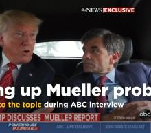 Trump keeps returning to Mueller report during Stephanopoulos interview