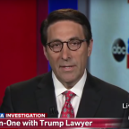 Donald Trump's lawyer says President's right to pardon himself 'cannot be dismissed'