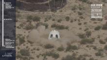 Nave espacial de Bezos llega a mayor altura en su historia