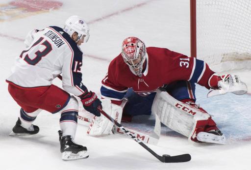 Drouin scores shootout winner, Montreal tops Columbus 3-2 - Yahoo Sports