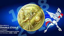 Coupe du monde : la médaille «deux étoiles» de la Monnaie de Paris s'arrache