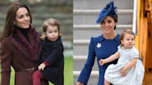 12 Times Kate Middleton and Princess Charlotte Dressed Like Twins