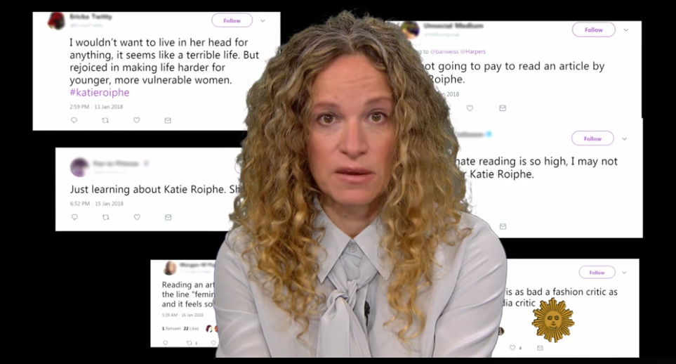 katie roiphe profile encouraged Last month, katie roiphe wrote an alternatingly brilliant and incoherent essay for  harper's on the #metoo cultural moment the combination of.