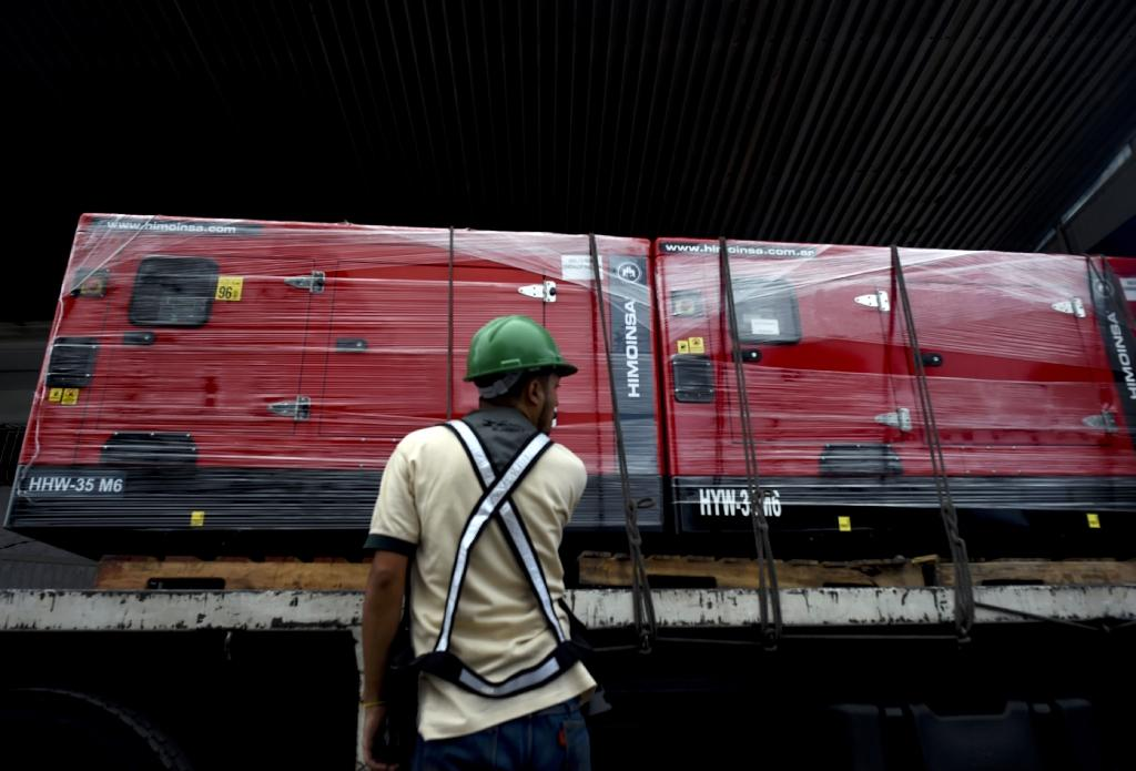 The shipment of generators and medical supplies seeks to mitigate a severe shortage of drugs and hospital supplies in Venezuela, where the UN says a quarter of the population is in urgent need of aid