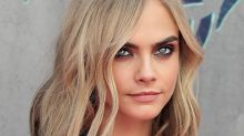Cara Delevingne Has Some Insane 'Burner' Hair