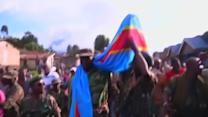 Congo rebels abandon last town, withdraw to hills