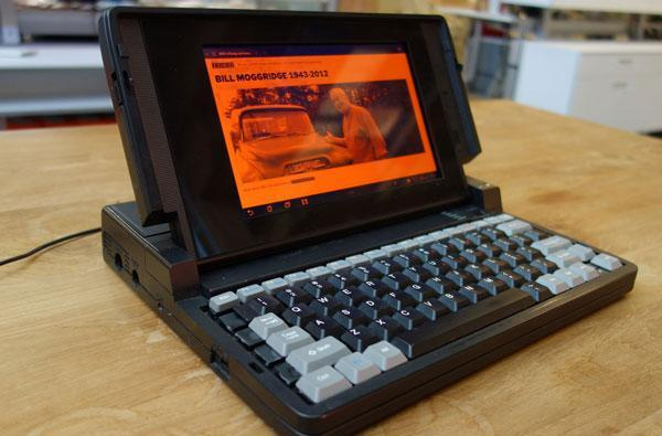 Ideo honors co-founder Bill Moggridge with Galaxy Tab-based Grid laptop