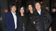 Ronnie Wood took wife Sally to Paul McCartney's wedding on their first date