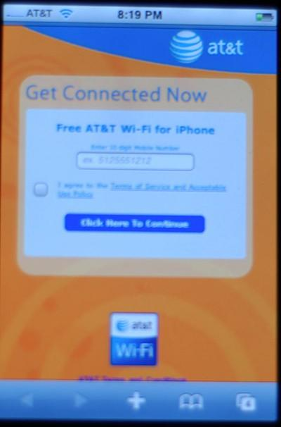 AT&T WiFi hotspots free to iPhone owners, anyone with a brain