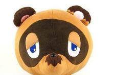 A Tom Nook plush toy at a Tom Nook price