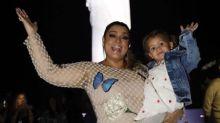 Preta Gil usa vestido com mais de 25 mil pérolas aplicadas à mão