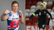 Which footballers have competed at the summer Olympics in other sports?