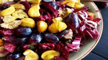 Bittersüßer Herbstsalat: Wenn Trauben & Maronen auf dem Teller zusammenkommen