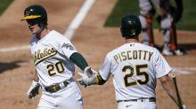MLB postseason picture: Athletics dethrone Astros, clinch first AL West title since 2013
