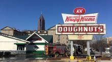 Officials rule fire at Shaq's landmark Krispy Kreme store in Atlanta was arson