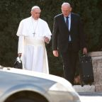 Vatican security chief, papal bodyguard, steps down over leak